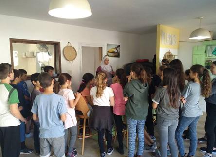 סיור במחלבת אלברוס