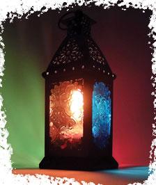 מנורה אורינטלית