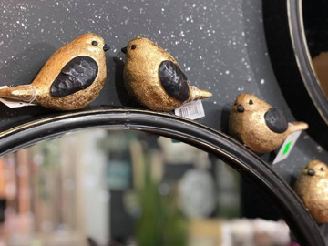 ציפורים על מראה באליאן מתנות